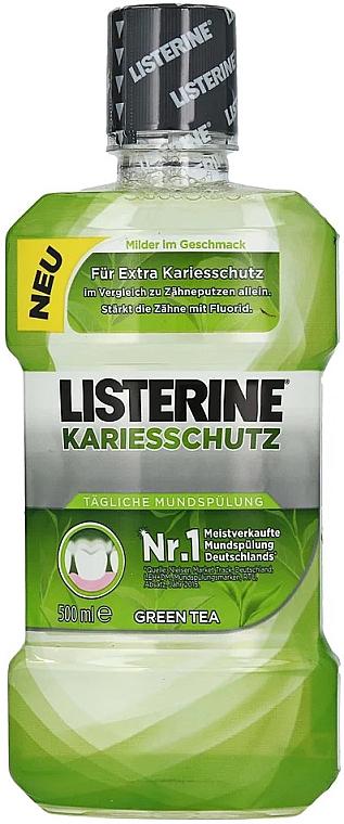 """Agent de clătire pentru cavitatea bucală """"Împotriva cariilor"""" - Listerine Caries Protection Mouthwash — Imagine N1"""
