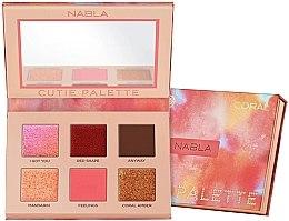 Parfumuri și produse cosmetice Paletă fard de pleoape - Nabla Cutie Collection Palette Coral