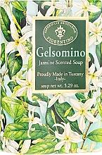 "Parfumuri și produse cosmetice Săpun natural ""Iasomie"" - Saponificio Artigianale Fiorentino Masaccio Jasmine Soap"