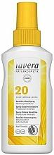 Parfumuri și produse cosmetice Spray de protecție solară pentru piele sensibilă - Lavera Sensitive Sun Spray SPF 20