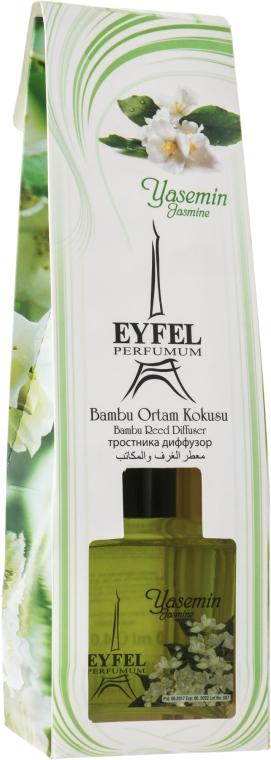 "Difuzor aromatic ""Iasomie"" - Eyfel Perfume Reed Diffuser Jasmin"