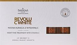 Parfumuri și produse cosmetice Concentrat facial de noapte cu vitamina C - Farmona Revolu C White