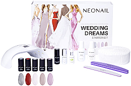 Parfumuri și produse cosmetice Set - NeoNail Professional Wedding Dreams Starter Set