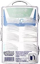 Типсы для ногтей, d/k - Silcare Tipsy Exellent Clear — фото N2