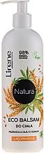"""Parfumuri și produse cosmetice Balsam de corp """"Grâu și ulei de cânepă"""" - Lirene Natura Eco Balm"""