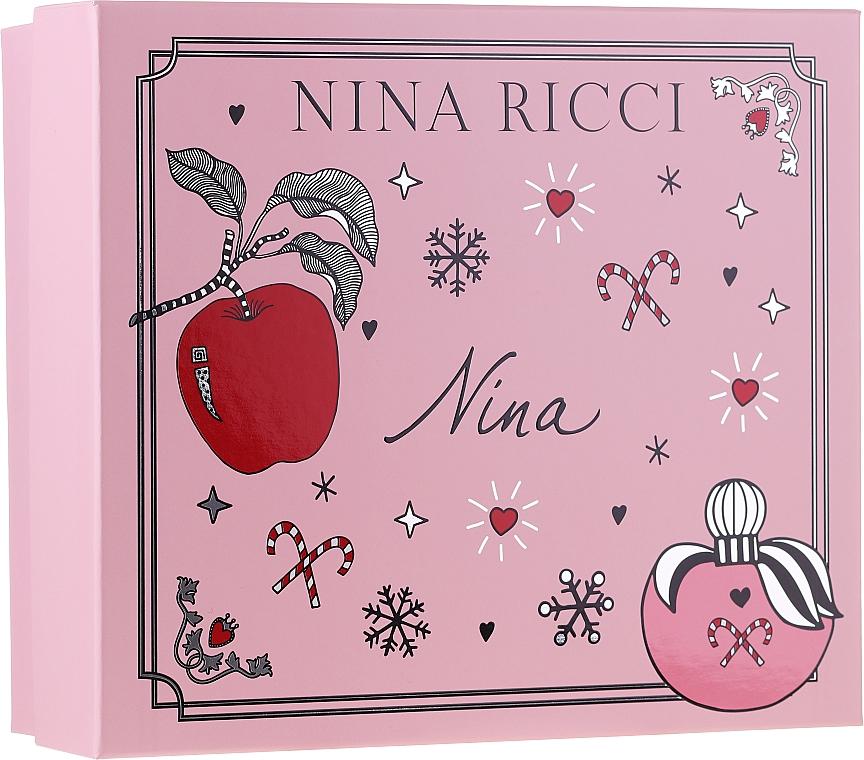 Nina Ricci Nina - Set (edt/50ml + lipstick/2.5g)