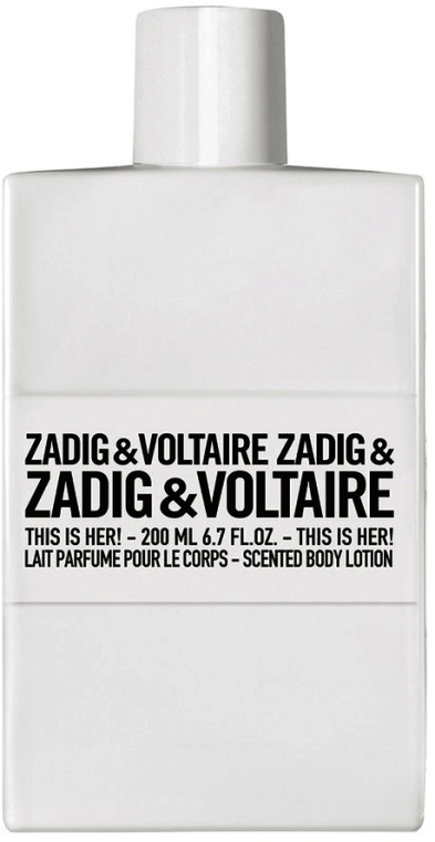 Zadig & Voltaire This Is Her - Loțiune de corp