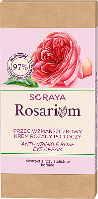 Cremă antirid pentru pleoape - Soraya Rosarium Rose Anti-wrinkle Eye Cream — Imagine N2