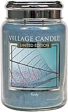 Parfumuri și produse cosmetice Ароматическая свеча в банке - Village Candle Spa Purity