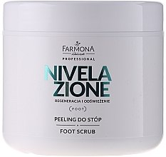 Parfumuri și produse cosmetice Peeling pentru tălpi - Farmona Nivelazione