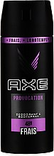 Parfumuri și produse cosmetice Antiperspirant - Axe Provocation Men Deodorant Bodyspray