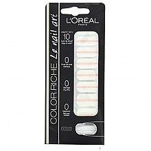 Parfumuri și produse cosmetice Abțibilduri pentru unghii - L'Oreal Paris Stickers Color Riche Le Nail Art