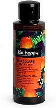"Parfumuri și produse cosmetice Ulei pentru bronz ""Mango și morcov negru"" - Bio Happy Hair & Body Tanning Oil Mango And Black Carrot"
