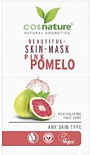 """Parfumuri și produse cosmetice Mască de față """"Pomelo roz"""" - Cosnature Beautiful Skin Mask Pink Pomelo"""