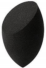 Parfumuri și produse cosmetice Burete pentru machiaj, negru - Kashoki Olive Cut Make Up Sponge Black