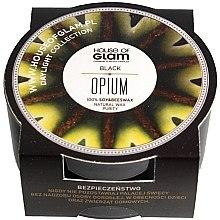 Parfumuri și produse cosmetice Lumânare parfumată - House of Glam Black Opium Candle (mini)