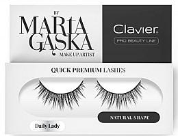 Parfumuri și produse cosmetice Gen false - Clavier Quick Premium Lashes Glam Madame 829