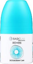 Parfumuri și produse cosmetice Antiperspirant roll-on 24 h - BasicLab Dermocosmetics Anti-Perspiris