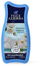 Parfumuri și produse cosmetice Odorizant de aer - Felce Azzurra Gel Air Freshener White Musk