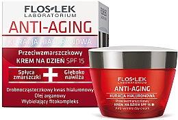 Parfumuri și produse cosmetice Cremă de zi împotriva ridurilor pentru față - Floslek Anti-Aging Anti-Wrinkle Day Cream SPF15
