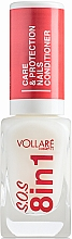 Parfumuri și produse cosmetice Tratament pentru unghii - Vollare Cosmetics SOS 8in1