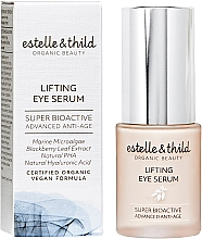 Духи, Парфюмерия, косметика Ser pentru ochi - Estelle & Thild Super Bioactive Lifting Eye Serum