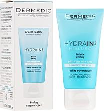 Parfumuri și produse cosmetice Scrub pentru față, gât și decolteu - Dermedic Hydrain3 Hialuro Peel