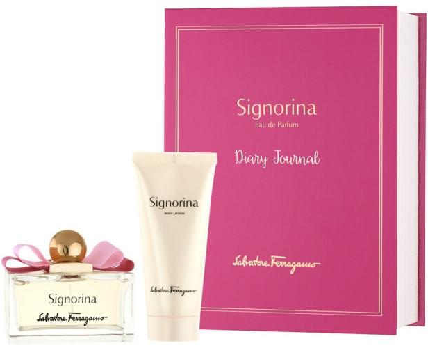 Salvatore Ferragamo Signorina - Set (edp 100ml + b/lot 100ml) — Imagine N1