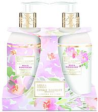 Parfumuri și produse cosmetice Set - Baylis & Harding Royal Bouquet Rose & Honeysuckle (b/lot/300ml + soap/300ml)