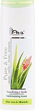 Parfumuri și produse cosmetice Tonic hidratant pentru față - AVA Laboratorium Pure & Free Moisturizing Toner