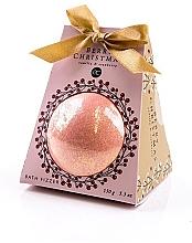 Parfumuri și produse cosmetice Bilă efervescentă cu aromă de vanilie și afine - Accentra Berry Christmas