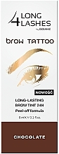 Parfumuri și produse cosmetice Make-up semipermanent pentru sprâncene - Long4Lashes Brow Tattoo Long Lasting Brow Tint 24h