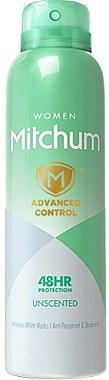 Deodorant spray - Mitchum Women Advanced Unscented — Imagine N1