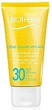 Parfumuri și produse cosmetice Cremă pentru față cu protecție solară și efect anti-îmbătrânire - Biotherm Sun Protection Creme Solaire Anti-age SPF 30