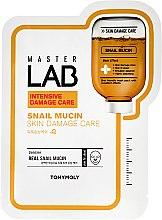 Parfumuri și produse cosmetice Mască de țesut pentru față cu mucus de melc - Tony Moly Master Lab Snail Mucin Mask