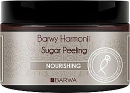 """Parfumuri și produse cosmetice Scrub din zahăr pentru corp """"Nutriție"""" - Barwa Harmony Sugar Peeling Nourihing"""