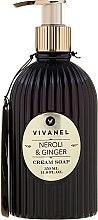 Vivian Gray Vivanel Neroli & Ginger - Кремовое жидкое мыло — фото N1