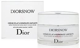 Parfumuri și produse cosmetice Cremă hidratantă cu efect iluminant - Dior Diorsnow Brightening Refining Moist Cloud Cream