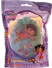 """Parfumuri și produse cosmetice Burete pentru baie """"Dora"""", 169-9, pentru copii - Suavipiel Dora Bath Sponge"""