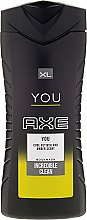 Parfumuri și produse cosmetice Gel de duș - Axe You Incredible Clean Body Wash Gel