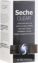 Parfumuri și produse cosmetice Lac de bază pentru unghii - Seche Vite Clear Crystal Base Coat