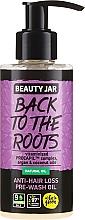 Parfumuri și produse cosmetice Ulei împotriva căderii părului - Beauty Jar Back To The Roots Pre-wash Oil