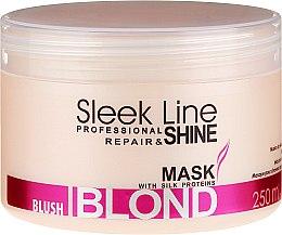 Parfumuri și produse cosmetice Mască de păr - Stapiz Sleek Line Blush Blond Mask