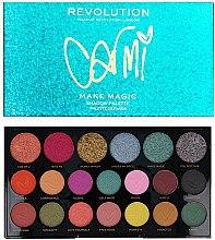 Parfumuri și produse cosmetice Paletă farduri de ochi - Makeup Revolution X Carmi Make Magic Eyeshadow Palette