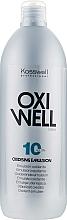 Parfumuri și produse cosmetice Emulsie oxidantă 3% - Kosswell Professional Oxidizing Emulsion Oxiwell 3% 10vol