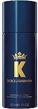 Parfumuri și produse cosmetice Dolce&Gabbana K By Dolce&Gabbana - Deodorant