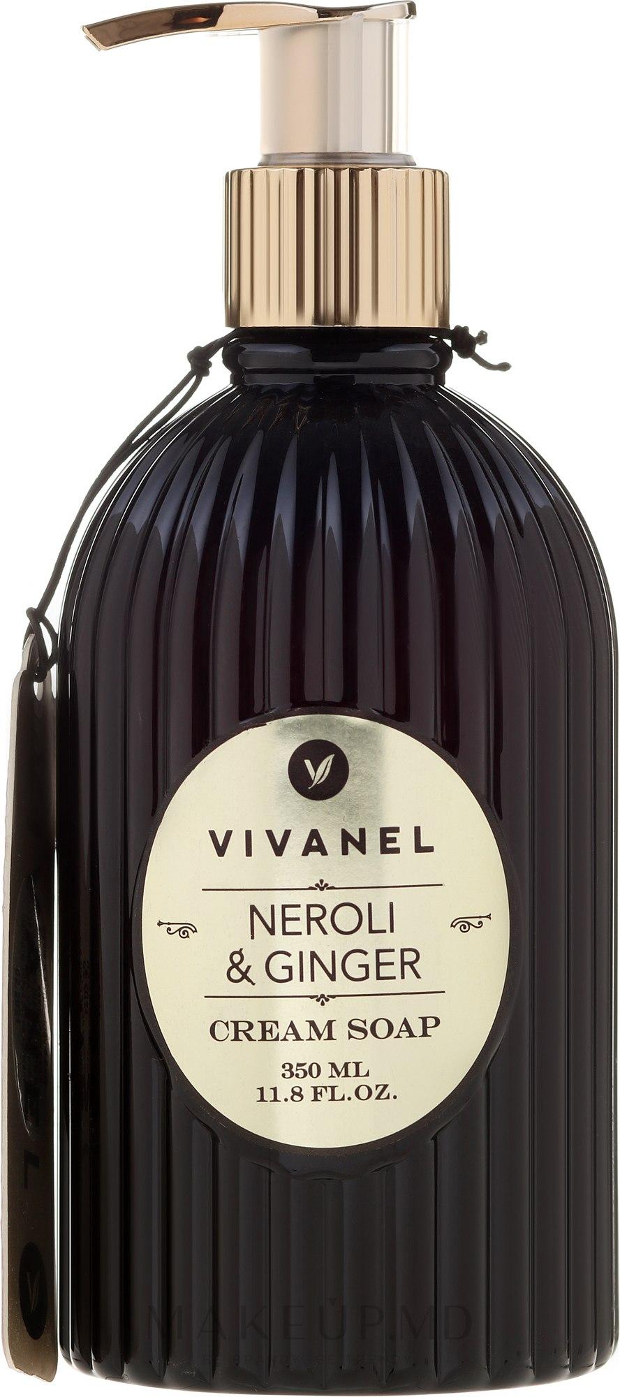 Vivian Gray Vivanel Neroli & Ginger - Кремовое жидкое мыло — фото 350 ml
