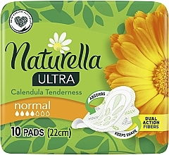 Parfumuri și produse cosmetice Absorbante, 10 bucăți - Naturella Ultra Calendula Normal