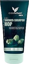 Parfumuri și produse cosmetice Șampon-gel de duș cu extract de hamei, pentru bărbați - Cosnature Men