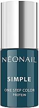 Parfumuri și produse cosmetice Gel lac de unghii - NeoNail Simple One Step Color Protein
